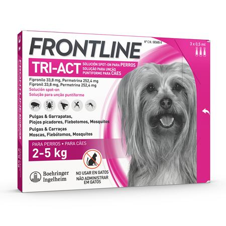 Frontline Tri-Act 2-5kg